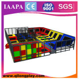 Carro quente novo Plaground interno da venda 2016 com Trampoline