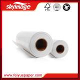 """Papier sec rapide de sublimation du faisceau """" 3 """" léger des FJ 77GSM 36 pour le textile pur de polyester"""