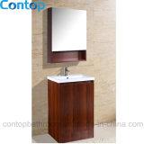 Moderner festes Holz-Badezimmer-Hauptschrank 036