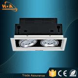 Eingebettetes 7W LED Gitter-Licht der Leistungs-SMD3030