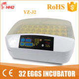 Vente automatique Yz-32 d'incubateur de 32 oeufs d'usine de Hhd mini