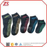 Оптовые изготовленный на заказ анти- малыши выскальзования скачут носки Trampoline