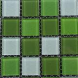 Azulejo de cristal de la pared del mosaico de construcción del arte decorativo del material