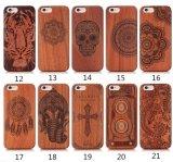 iPhone 6s를 위한 OEM 목제 조각 셀룰라 전화 상자