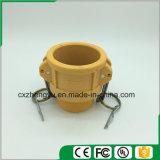 Accoppiamenti di plastica/rapidamente del Camlock accoppiamenti (Tipo-b), colore giallo