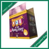 회사 상표 우송을%s 로고에 의하여 인쇄되는 식품 포장 상자