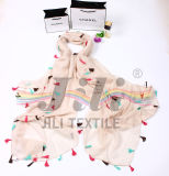 Bufandas con los colgantes