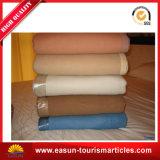 Cobertor/cobertor gravado poliéster do velo da flanela
