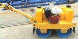 振動の二重ドラム道路工事のための鋼鉄車輪のローラー