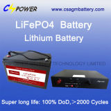 Tiefe Einleitung-Lithium-Batterie-lange Lebensdauer 12V12ah für Solar
