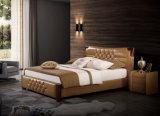 Das neue Entwurfs-Schlafzimmer-Möbel-weiche Bett (9565)