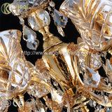Indicatore luminoso a cristallo europeo del lampadario a bracci del cognac K9