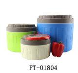 Бак круглого содержания нержавеющей стали теплый (FT-01804)