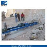 Machine de foret de faisceau pour l'exploitation de marbre