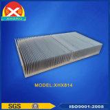 Dissipador de calor de alumínio com tecnologia do desenho da fibra para o setor do vento