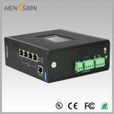 4 Poe e interruptor portuario de la red de Ethernet de 2 Fx