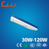 6 do poder superior do diodo emissor de luz medidores de luz de rua 60 watts