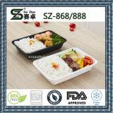 Fabrik-stapelbarer PlastiknahrungsmittelGroßhandelsvorratsbehälter (SZ-868)