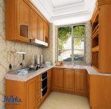 Gabinete de cozinha de madeira da madeira 2017 contínua