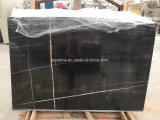 Mattonelle di marmo nere di Saint Laurent per il pavimento e la parete