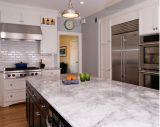 Gabinete de cozinha americano do frame de madeira