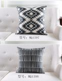 Ammortizzatore di Geomatric del cuscino del quadrato della manovella della decorazione del sofà della banda dell'onda