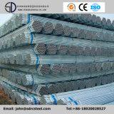 Tubulações galvanizadas da construção de aço do soldado do MERGULHO quente para o material de construção da estufa