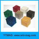 Atacado Colorful 3mm 5mm Esfera Toy Ball Puzzle Cube Magnet