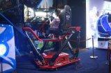 Macchina emozionante della vettura da corsa dei 3 schermi con il fornitore dinamico della piattaforma di 6 Dof