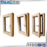 Finestra di alluminio di lusso della stoffa per tendine/finestra dell'oscillazione/finestra di girata e di inclinazione