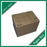 Tapa asociada rectángulo del archivo de Kraft con la maneta (FP8039127)