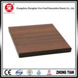 Tarjeta de madera del laminado del compacto del color