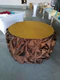 Linho de mesa da flor da flor de rosas para banquete de casamento usado (CGTC1713)