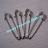 100PCS Pin nichelato standard del Kilt del Brooch del metallo di formato 76mm