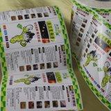 Etiqueta autoadesiva de papel impressa da etiqueta