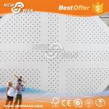 Placa de gipsita perfurada acústica de Knauf do Drywall