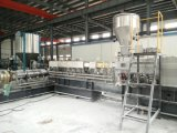 Zweistufiger Plastikkörnchen-Produktionszweig für das Füllen von Masterbatch