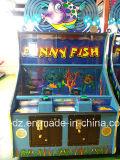 Machine van uitstekende kwaliteit van het Spel van de Vissen van het Spel de machine-Gelukkige Muntstuk In werking gestelde Grappig voor Gift die van het Stuk speelgoed van het Lagerbier van het Kaartje van de Loterij van Jonge geitjes de Nieuwste Grappige Gekke KrokodilleVissen raken