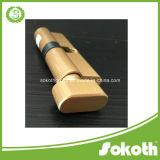 Sokothの工場鉛カラー真鍮シリンダーロック1.49USD
