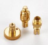 回された機械化の機械装置機械部品を回す機械製図の銅CNC