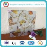 3D Print Nouveau design Butterfly Pattern Pattern Decorative Glass