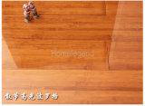 Le faisceau de HDF tissé par brin a carbonisé le plancher en bambou conçu avec des couches multi