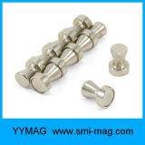 Neodimio cubierto del imán del Pin del empuje del acero inoxidable de la alta calidad para la venta