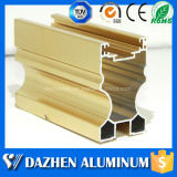 Küche-Türrahmen-Schrank-Aluminiumaluminiumstrangpresßling-Profil mit dem anodisierten Puder beschichtet