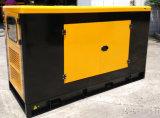 30kVA 24kwリカルドの水によって冷却される無声ディーゼル発電機セット