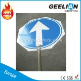Aluminium / ABS Board Slow Stop Safety Road Traffic Sign Road Emergency Stop Sign
