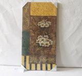 Il reticolo delle pitture decorative della tela di canapa della famiglia di timo