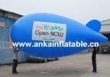 광고를 위한 옥외 팽창식 헬륨 Zeppelin 소형 연식 비행선