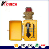 Teléfono impermeable Knsp-08L del teléfono industrial del teléfono de la industria química de Shenzhen