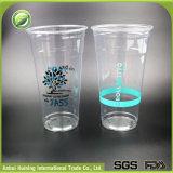 24ozによって印刷される使い捨て可能なプラスチックスムージーのコーヒーカップ